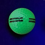 Black Light Green Striped