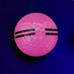 Black Light Pink Striped
