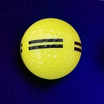 Black Light Yellow Striped