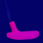 Black Light Pink Urethane Putter