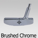 Brushed Chrome Head Putters