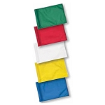 Plain Practice Green Flags - Small & Large Tube