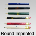 Round Pencils - Imprinted