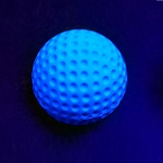 Black Light Light Blue Low Bounce