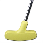 Yellow Rubber Shape Putter