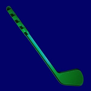 Black Light Green Kiddie Putter
