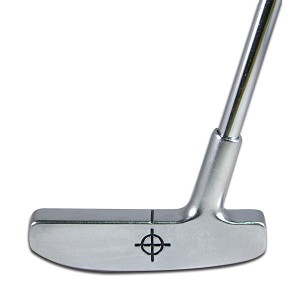 Brush Chrome Head Putter