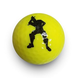 Yellow Loser Novelty Ball
