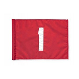Numbered Tube-Lock Flag Sets